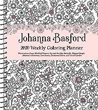 Johanna Basford 2020 Week Col Plan Diary