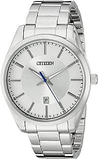 Citizen Men's Quartz Stainless Steel Watch with Date, BI1030-53A