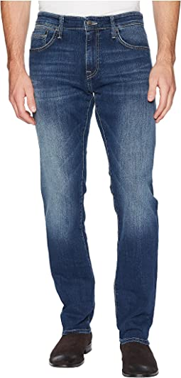 Zach Regular Rise Straight Leg in Dark Blue Williamsburg