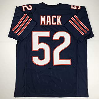 Unsigned Khalil Mack Chicago Blue Custom Stitched Football Jersey Size Men's XL New No Brands/Logos
