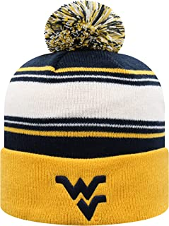 wvu knit hat