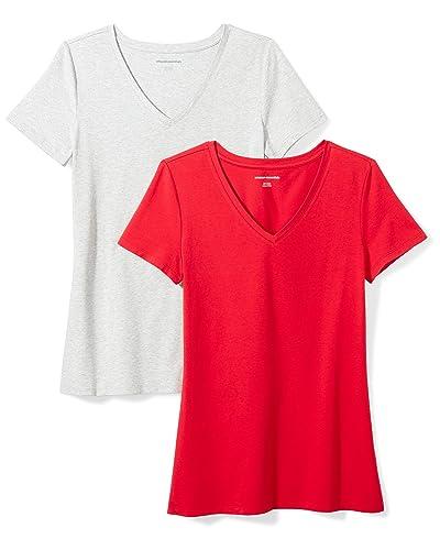 e9035e83f8d4 Red Dressy Tops: Amazon.com
