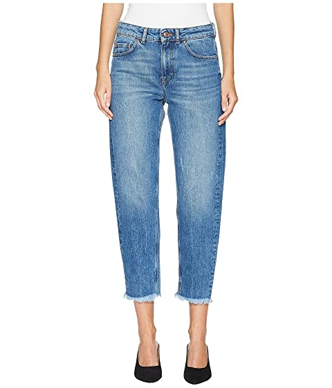 ESCADA J836 Tapered Raw Edge Jeans