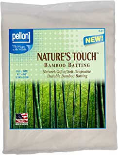 Pellon B-81 Nature's Touch Bamboo Blend Batting W/Scrim - Full 81