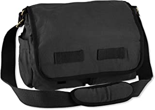 CB STATION Messenger Bag for Men Women Canvas Crossbody School College Overnight Laptop Bag