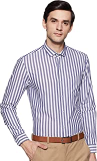 Arrow New York Men's Slim fit Formal Shirt