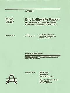 Eric Laithwaite Report