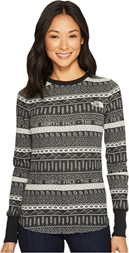 The North Face Long Sleeve Holiday Nordic Waffle Tee