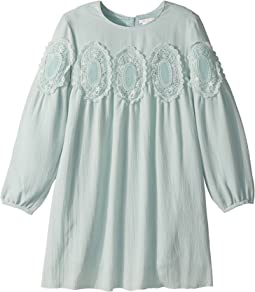 Chloe Kids - Couture Mini Me Long Sleeve Medallions Lace Dress (Little Kids/Big Kids)