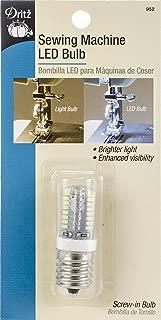 Dritz 952 Bulb LED Screw in Machine Aids, Multi
