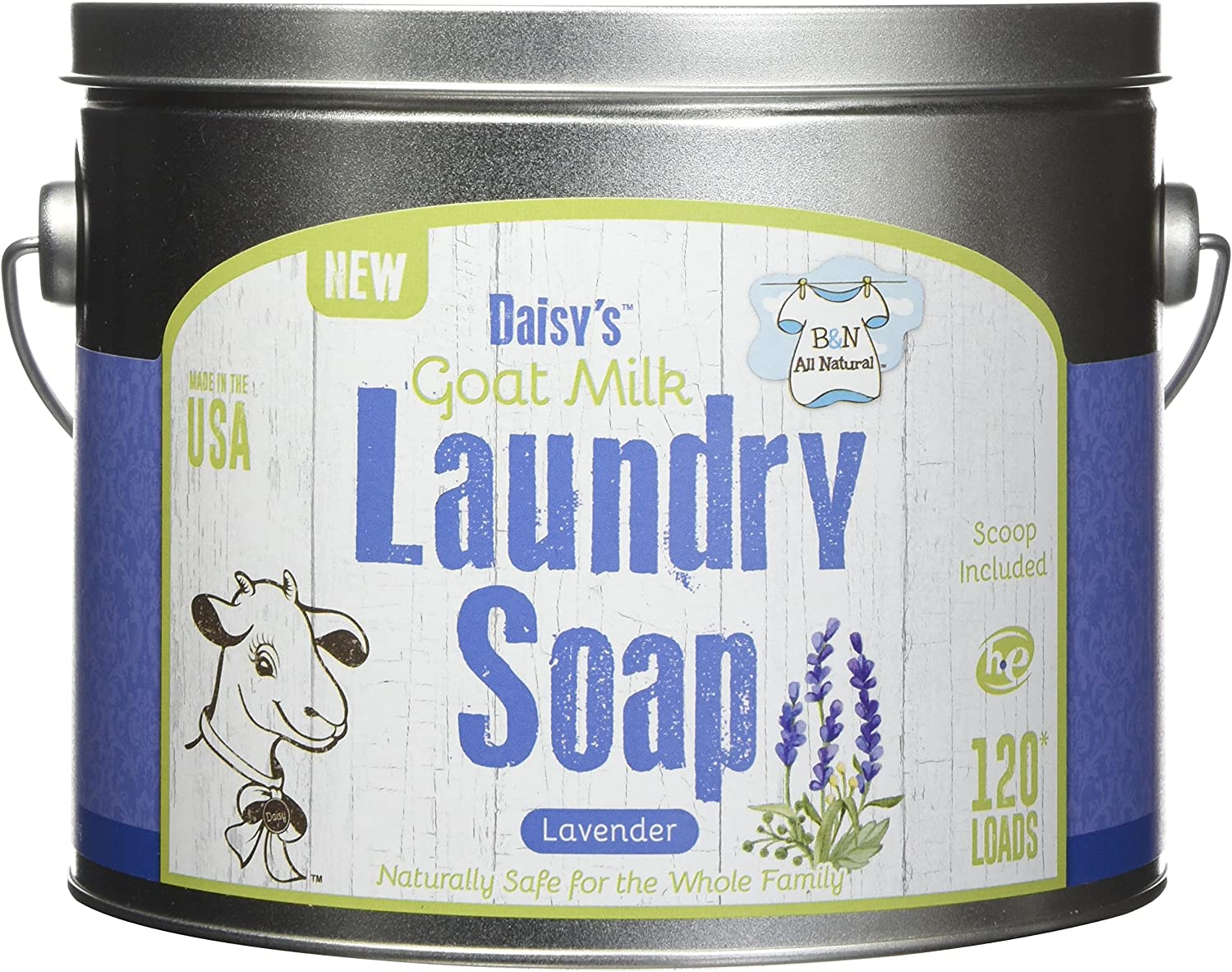 Brooke Nora at Home Goat Milk Loa Max 45% OFF Laundry 120 Soap Time sale Lavender