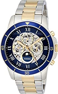 Fossil Men's Multi Color Stainless Steel Band Watch - ME3141