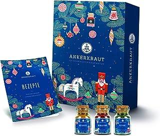 Ankerkraut Premium Adventskalender 2020, der Klassiker von Ankerkraut   24 Gewürz-Überraschungen für die Weihnachtszeit   1,5 kg Gewürz-Kalender als Geschenk für Männer und Frauen