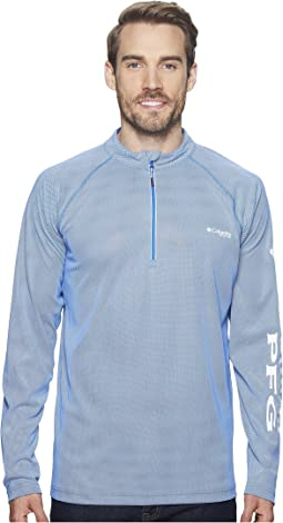 Solar Shade Zero 1/4 Zip Top