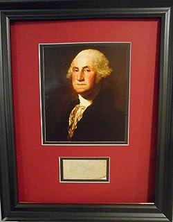 President George Washington autograph