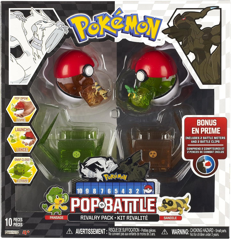 Pokémon Pokemon Pop 'N Schlacht Rivalitt Pack-B & W Series   2 Vegimak Und Sandile