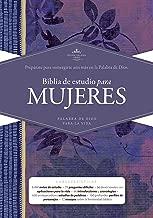 RVR 1960 Biblia de Estudio para Mujeres, tapa dura (Spanish Edition)