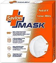 Savlon Mask   BIS Certified FFP2 S Mask (comparable to N95)   Earloop   Pack of 4