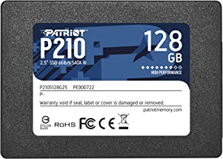 "Patriot P210 SATA 3 128GB Internal Solid State Drive 2.5"" SSD- P210S128G25"