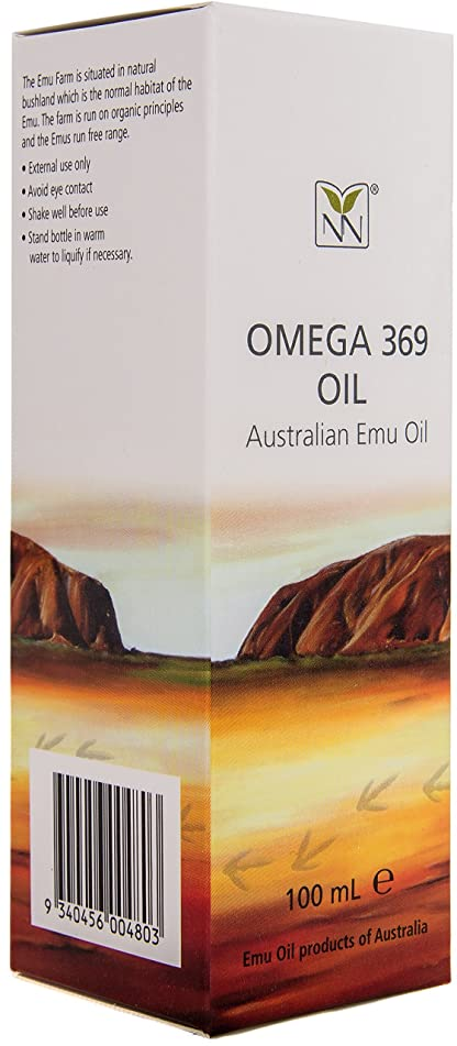 Large, Ultra Pure Australian Emu Oil - 3.4 oz | The World's Best Deep Moisturizer for Dry Skin, Problem Skin, Healthy Hair Growth, and Scarring