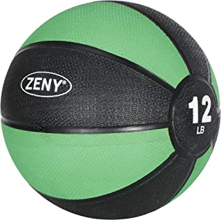ZENY メディシンボール 4kg 5kg トレーニングボール エクササイズ ウェイトボ一ル 筋トレ 体幹 腹筋強化 ジム 自宅トレーニング器具 ゴム製