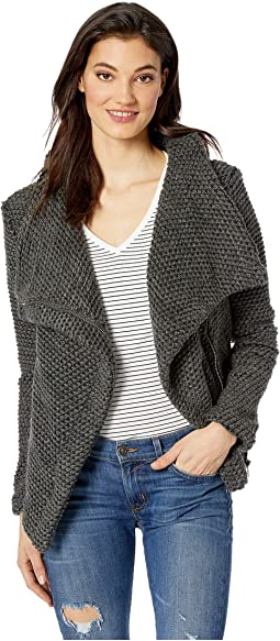 Textured Grey Jacket in Silver Lining