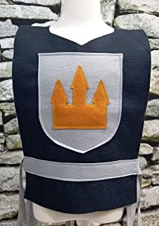 Adult Knight Costume Tunic (King, Prince, Medieval, Solider) - Baby/Toddler/Kids/Teen/Adult Sizes