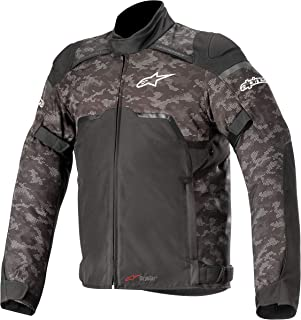 Alpinestars Hyper DRYSTAR All-Weather Sport Motorcycle Riding Jacket (X-Large, Black/Camo Red)