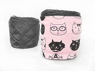Pink Cat Lover Yarn Bowl For Knitting & Crochet
