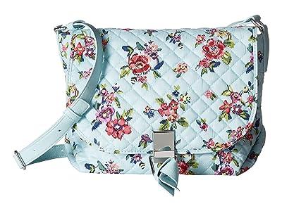 Vera Bradley Carson Crossbody (Water Bouquet) Cross Body Handbags
