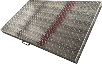 PREMIUM HOME PHG Griddle Cover 36 Inch: for Blackstone Griddle, Blackstone Griddle Cover Accessories, Flat Top Griddle/Grill Cover, Great for Outdoors, use as Tabletop, Diamond Plate Aluminum