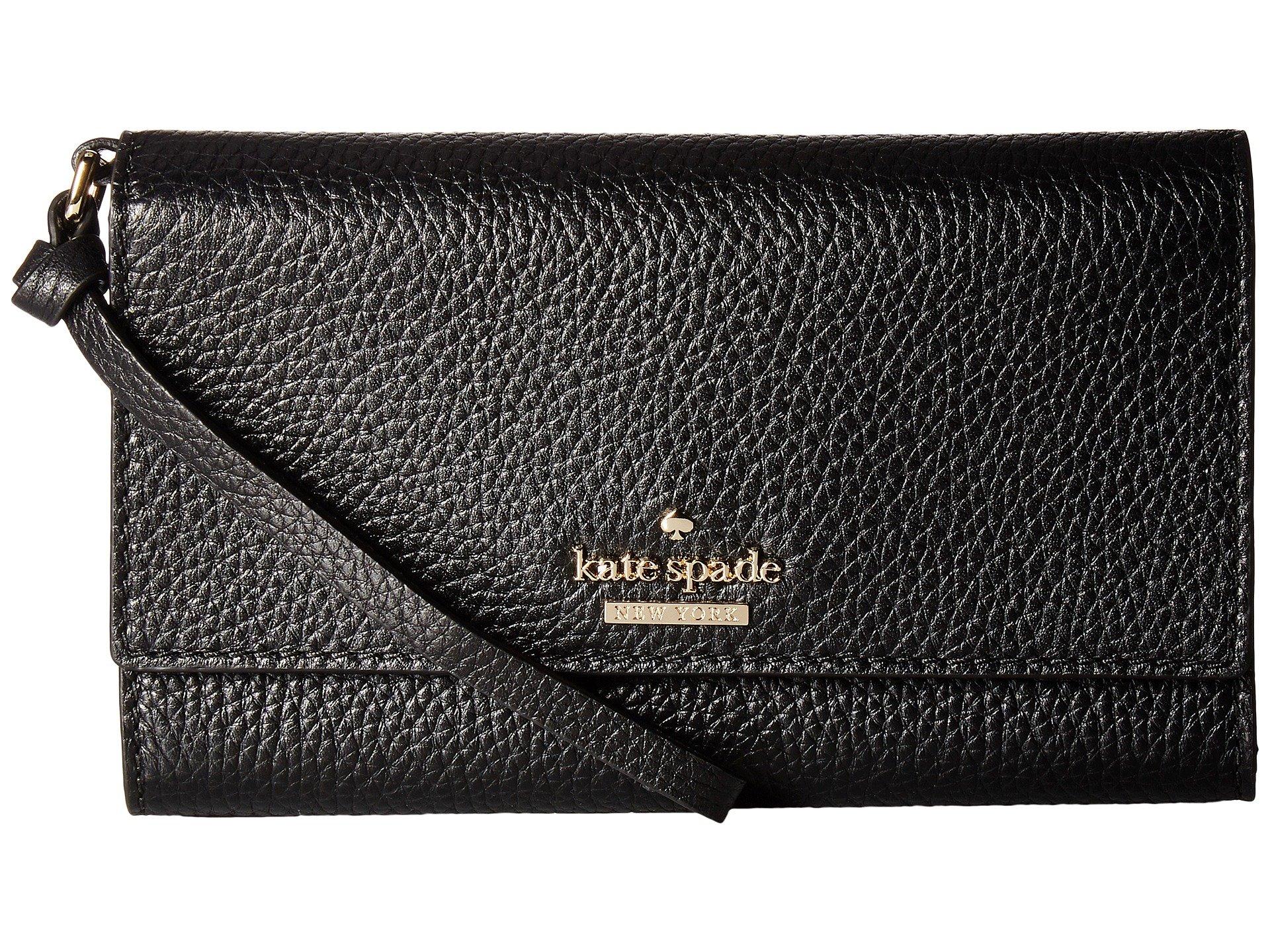 New Kate Spade New York Jackson Street Malorie Wallet, Black