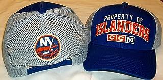 CCM New York Islanders Curved Bill Structured Snap Back Hat - OSFA - VZ28Z