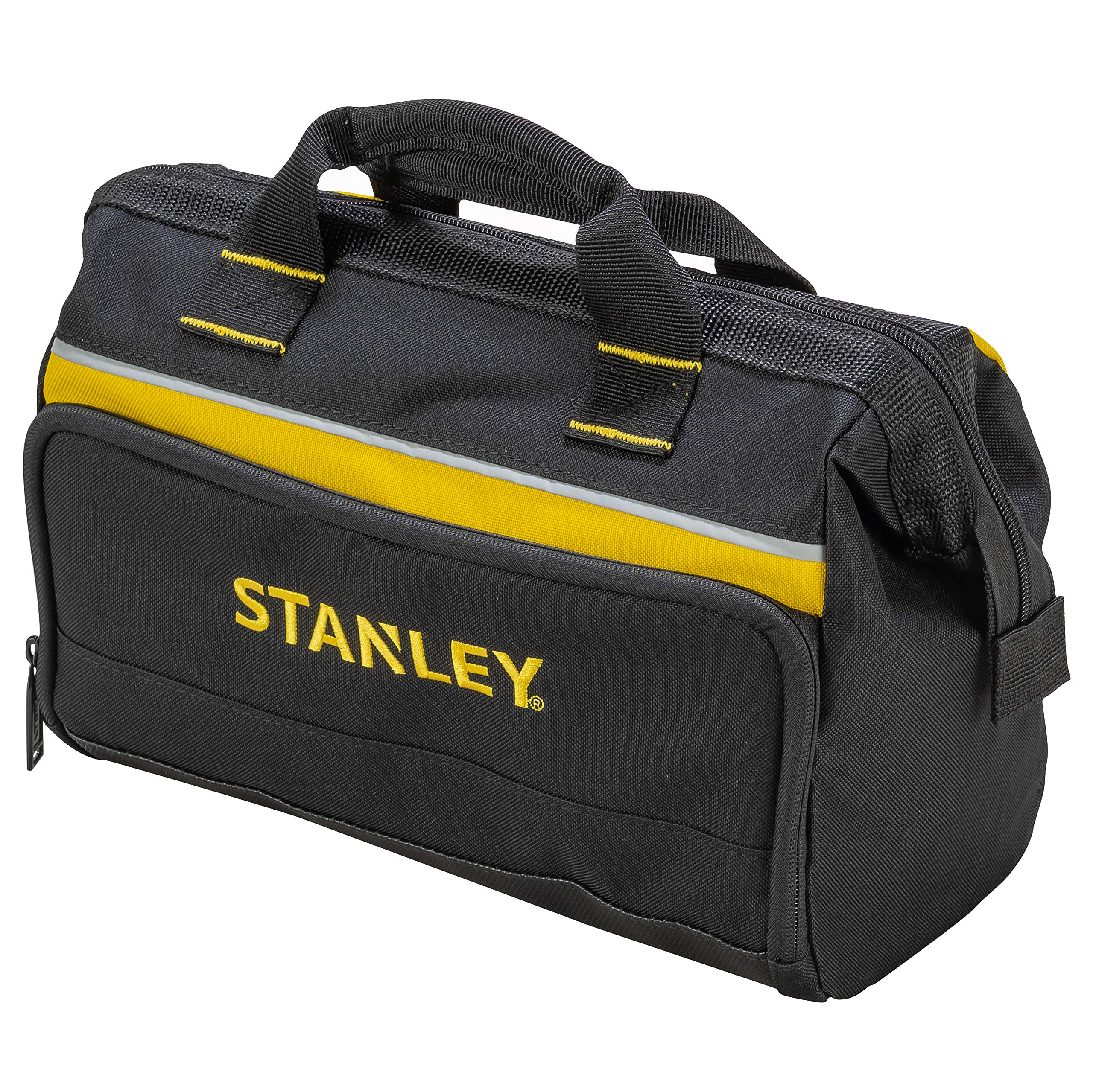 Stanley Open Mouth Tool Bag For Drill And Tools Multi Pockets Storage Organiser 1 93 330 Amazon Co Uk Diy Tools