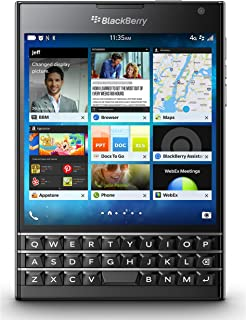 BlackBerry Passport 32GB Factory Unlocked (SQW100-1) GSM 4G LTE Smartphone - Black