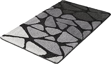 Kleine Wolke Bath Rug Inspire, Dark Grey, 70x120 cm, Polyacrylics, 70 x 120 x 1.5 cm