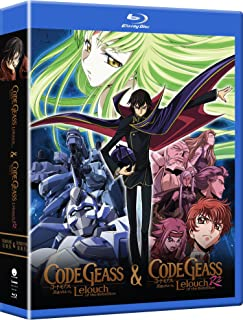 Code Geass Complete Series Blu-Ray(コードギアス 反逆のルルーシュ 第1+2期 全50話)