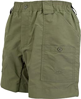 feb1458bb3 AFTCO Bluewater M01 Original Traditional Fishing Shorts - Safari - 30