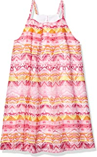Girls' Spaghetti Strap Fashion Dress