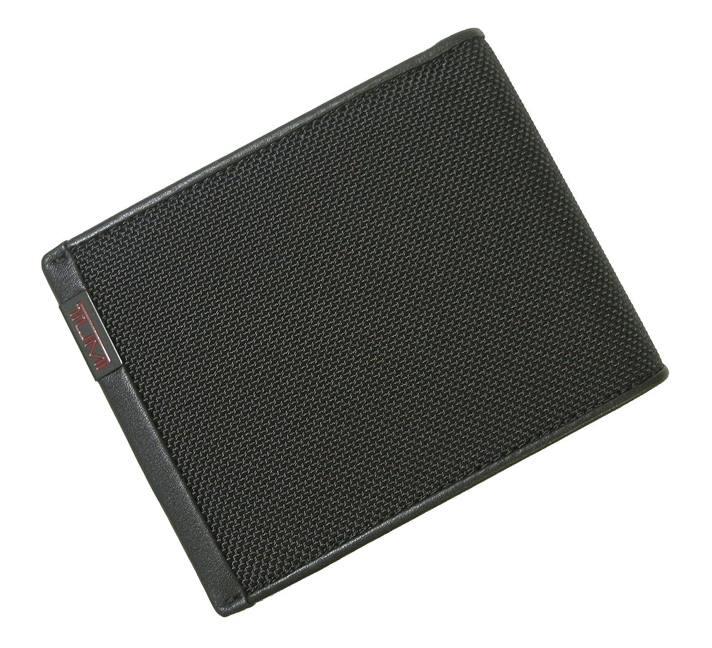 遠足建築内向き[トゥミ] 財布 メンズ ALPHA 二つ折り(ブラック)バリスティックナイロン TM-325 [並行輸入品]