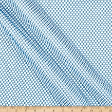 Carr Textile Air Mesh Columbia Blue Fabric Fabric by the Yard