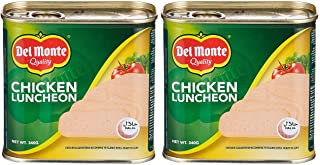 Del Monte Chicken Canned Luncheon Meat , 340 gms - (Pack of 2)