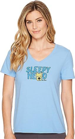 Life is Good Sleepy Head Sleep Vee