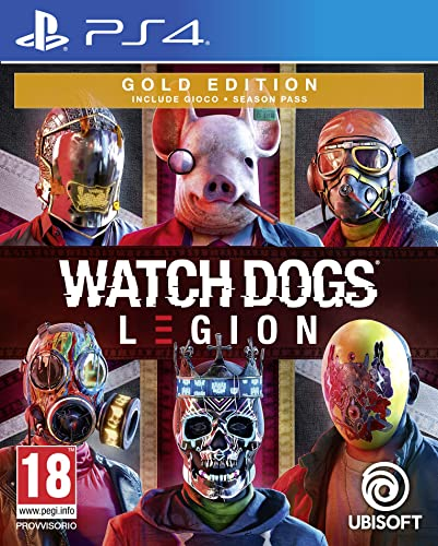 ubisoft spa a socio unico watch dogs legion gold edition - playstation 4 300112045