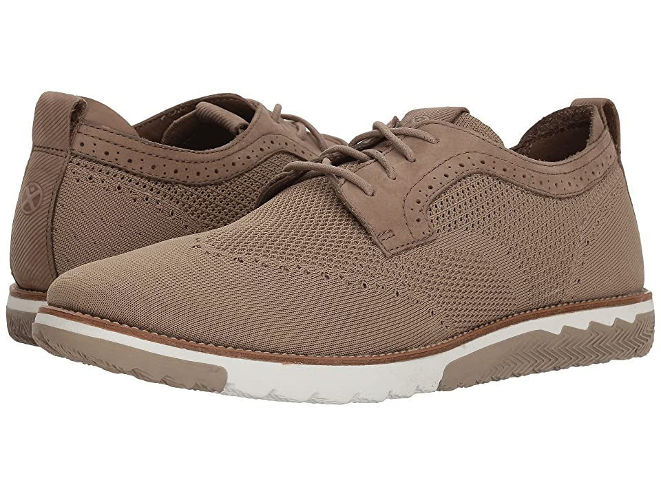Hush Puppies Expert WT Oxford (Taupe Knit/Nubuck) Men