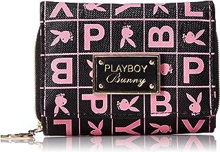 [プレイボーイ] 財布 レディース 三つ折り ロゴ