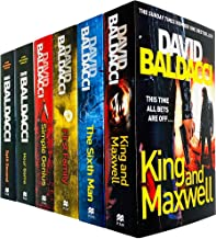 King and Maxwell Series 6 Books Collection Set by David Baldacci (Split Second, Hour Game, Simple Genius, First Family, Si...