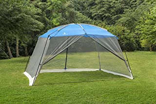 ALPHA CAMP Screen House Tent Easy Setup Canopy - 13'X9'