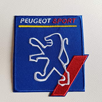 BLUE HAWAI A538 Patch ECUSSON Peugeot Sport 11 2,5 CM