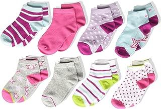 Stride Rite Girls' 8-Pack Socks